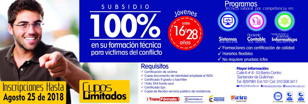 INTRO - VICTIMAS DEL CONFLICTO