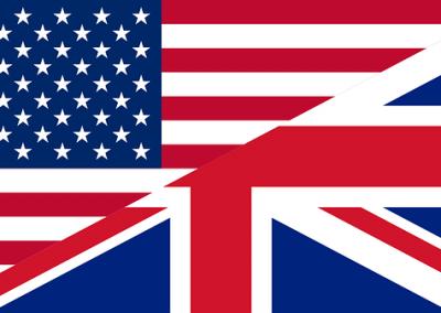 Banderas inglés